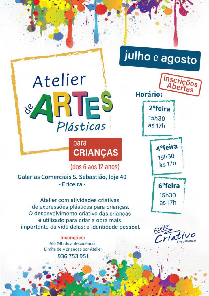 Atelier Criativo - Artes Plásticas