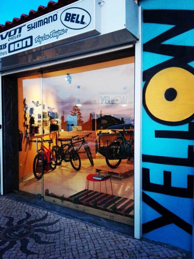 Yellow Bike Store - Loja de Bicicletas