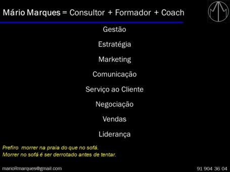Mário Marques – Consultor