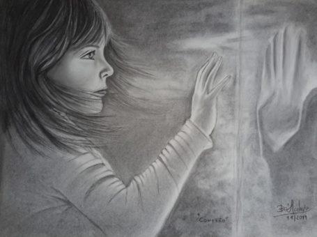 Isabel Machado – Pintura a Carvão